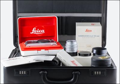 新同收藏品 徕卡 Leica M6 Traveler + M 50/1.4 E43 旅行家版