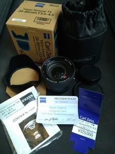 康泰时 蔡司 contx N 24-85 N2485 AF 自动镜头 极品 N1