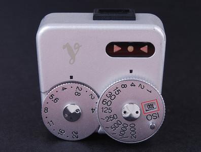 【美品】福伦达 VC METER 测光顶 silver 银色测光表#JP19337