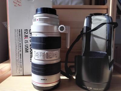 95新 佳能 EF 70-200mm f/2.8L IS USM(小白IS)