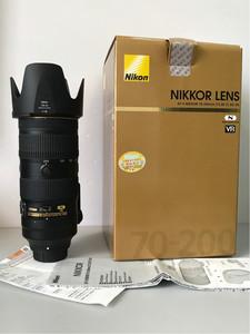 尼康AF-S 尼克尔 70-200mm f/2.8E FL ED VR 新款电磁炮