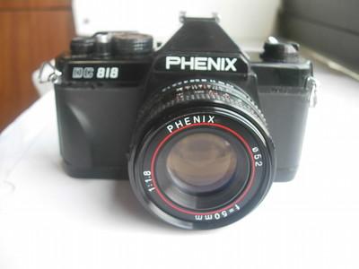 很新凤凰DC818单反相机带50mmf1.8镜头,收藏使用