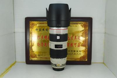 佳能 70-200 F2.8L IS 小白防抖 单反镜头 红圈 长焦 恒定大光圈