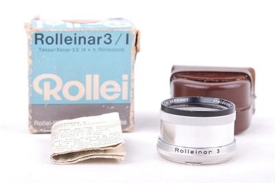 【美品】Rollei/禄来 Rolleinar 3/1 BAY I滤镜套装#jp18926
