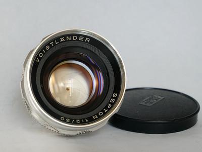 福伦达DKL卡口赛破铜Septon 1:2/50mm镜头,无开胶,带前后盖