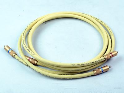 范登豪 Van den hul 碳纤信号线 极上品!