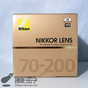 99新尼康 AF-S70-200mm f/2.8G ED VR II#8372[支持高价回收置换]