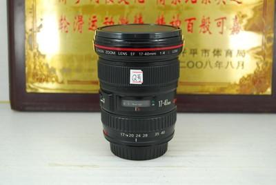佳能 17-40 F4L USM 单反镜头 全幅超广角 专业红圈小三元之一
