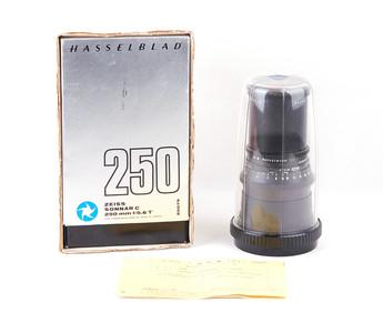 哈苏 Sonnar C 250/5.6 T* 黑色镜头 20079 全套包装#jp18825