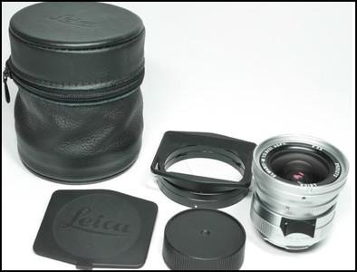 徕卡 Leica M 21/2.8 ELMARIT-M ASPH 全铜银色
