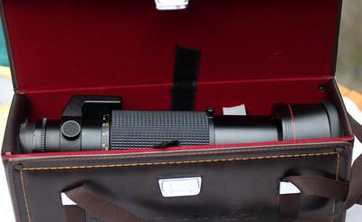 尼康口图丽150-500mm手动调焦镜头
