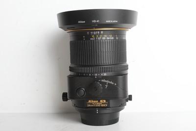 97新二手 Nikon尼康 24/3.5 D ED PC-E 移轴镜头(B6930)【京】