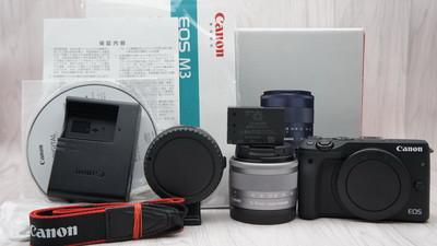 99行带包装佳能 EOS M3+15-45镜头+EF转EOS M转接环