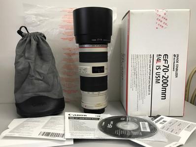 99新行货带包装的佳能 EF 70-200mm f/4L IS USM(小小白IS)