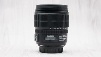 95新佳能 EF-S 15-85mm f/3.5-5.6 IS USM 15-85