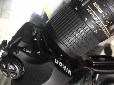 尼康D850 搭配 24-70mm