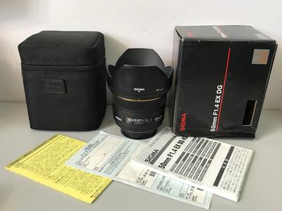 适马 50mm f/1.4 EX DG HSM(尼康口)【98新带包装】