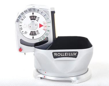 【美品】禄来 Rolleilux BAY I金属遮光罩带测光表#jp19373