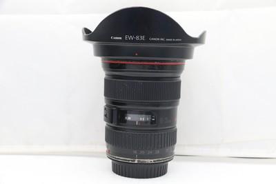80新二手Canon千亿国际娱乐官网首页 16-35/2.8 L USM 一代镜头(1208)【深】