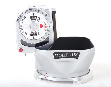 禄来 Rolleilux BAY I金属遮光罩 带测光表 #jp19373