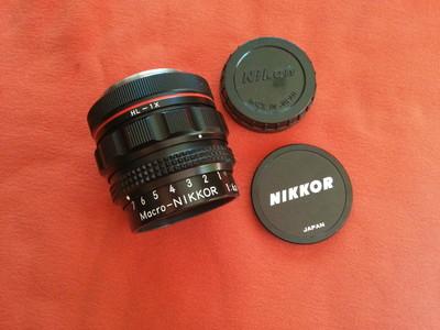 Nikon Macro-NIKKOR 12cm f/6.3  HL-1X专业微距镜头