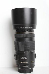 95新二手Canon佳能 70-300/4-5.6 IS USM变焦镜头(B6943)【京】