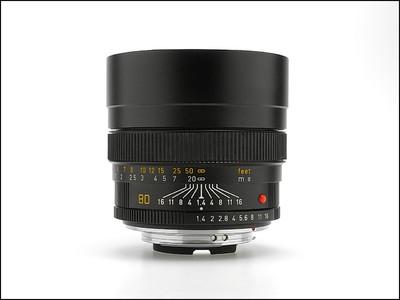 徕卡 Leica R 80/1.4 SUMMILUX-R E67 人像王 极好成色