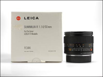 徕卡 Leica R 50/1.4 SUMMILUX-R E60 ROM 极好成色 带包装