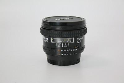 95新二手 Nikon尼康 20/2.8 广角定焦镜头(W07360)【武】