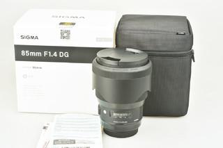 98新 适马 85mm F1.4 DG HSM丨Art  (佳能口)