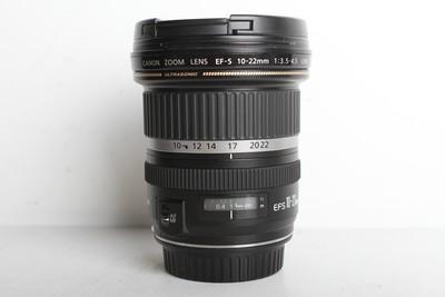 96新二手Canon佳能 10-22/3.5-4.5 USM 广角镜头 (B6939)【京】