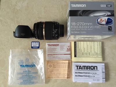 尼康口带原包装二代B008腾龙18-270mm一镜走天涯