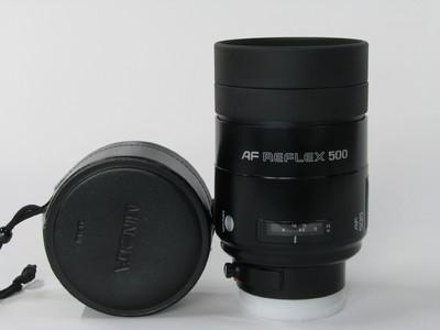 美能达AF 500F8反射镜头98新