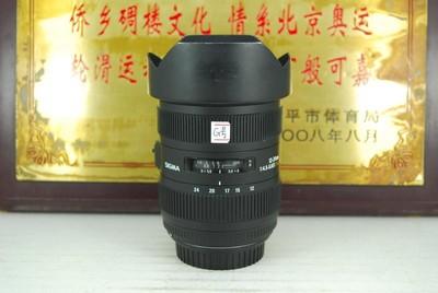 佳能口 适马 12-24 F4.5-5.6 II HSM 镜头 二代 全画幅 超广角