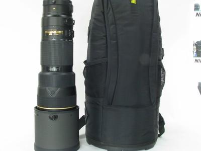 尼康 AF-S 尼克尔 200-400mm f/4G ED VR II二代镜头98新带包