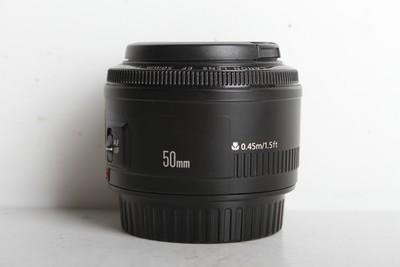96新二手Canon佳能 50/1.8 II 二代标准镜头(B6953)
