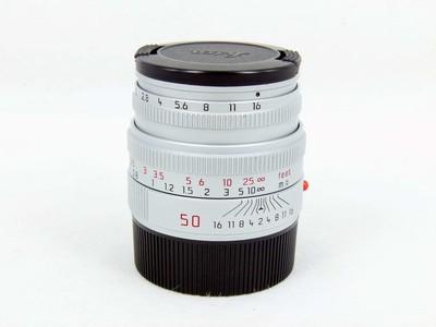 带包装的徕卡Leica Summicron-M 50/2 银色现行版