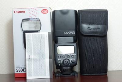 11新二手Canon佳能 580EX II 闪光灯 适用于5D25D3 (00853)津
