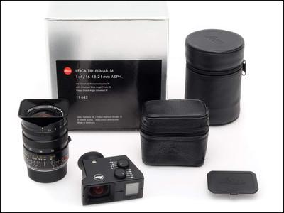 徕卡 Leica M 16-18-21/4 ASPH 6-BIT 带取景器 带包装