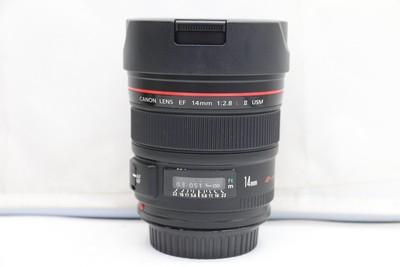 98新二手 Canon佳能 14/2.8 L II USM二代广角(1190)【深】