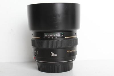 95新二手 Canon佳能 50/1.4 EF 标准定焦镜头(B6984)【京】