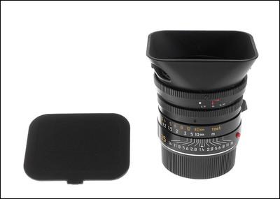 徕卡 Leica M 35/1.4 SUMMILUX-M ASPH 6-BIT 最后期408号段