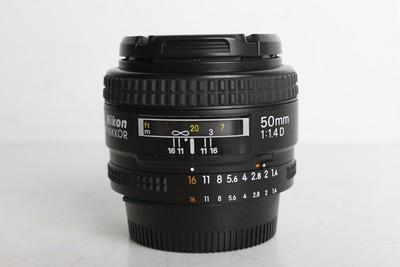 97新二手 Nikon尼康 50/1.4 D 标准定焦镜头(B95037)【京】