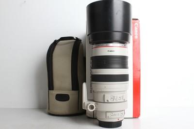 94新二手Canon佳能 100-400/4.5-5.6 L IS 大白一代(B95019)京