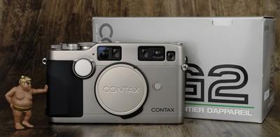 Contax 康泰时 G2 胶片机 超经典 自动对焦 旁轴 极美品 箱说全
