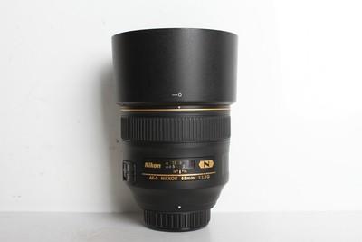 95新二手 Nikon尼康 85/1.4 G 人像定焦镜头(B95064)【京】