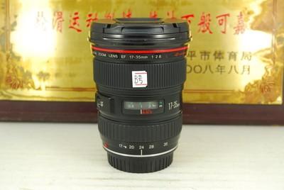 佳能 17-35 F2.8L 老大三元 单反镜头 全画幅红圈专业 恒圈超广角