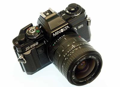 Minolta X-700 /适马UC28-70/2.8-4 套机