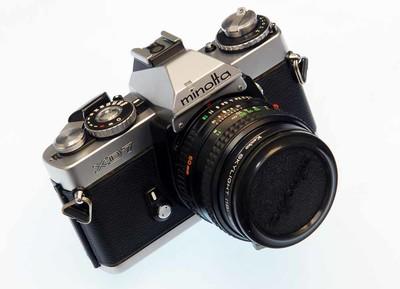 Minolta XD7(小字版)50/1.4(罗科尔版)套机