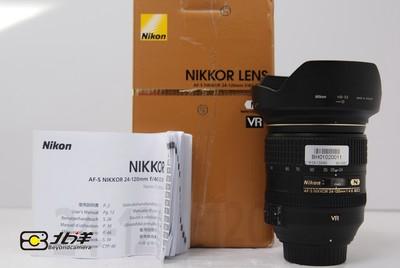 97新尼康AF- S24-120/4G ED VR带包装(BH01020011)【已成交】